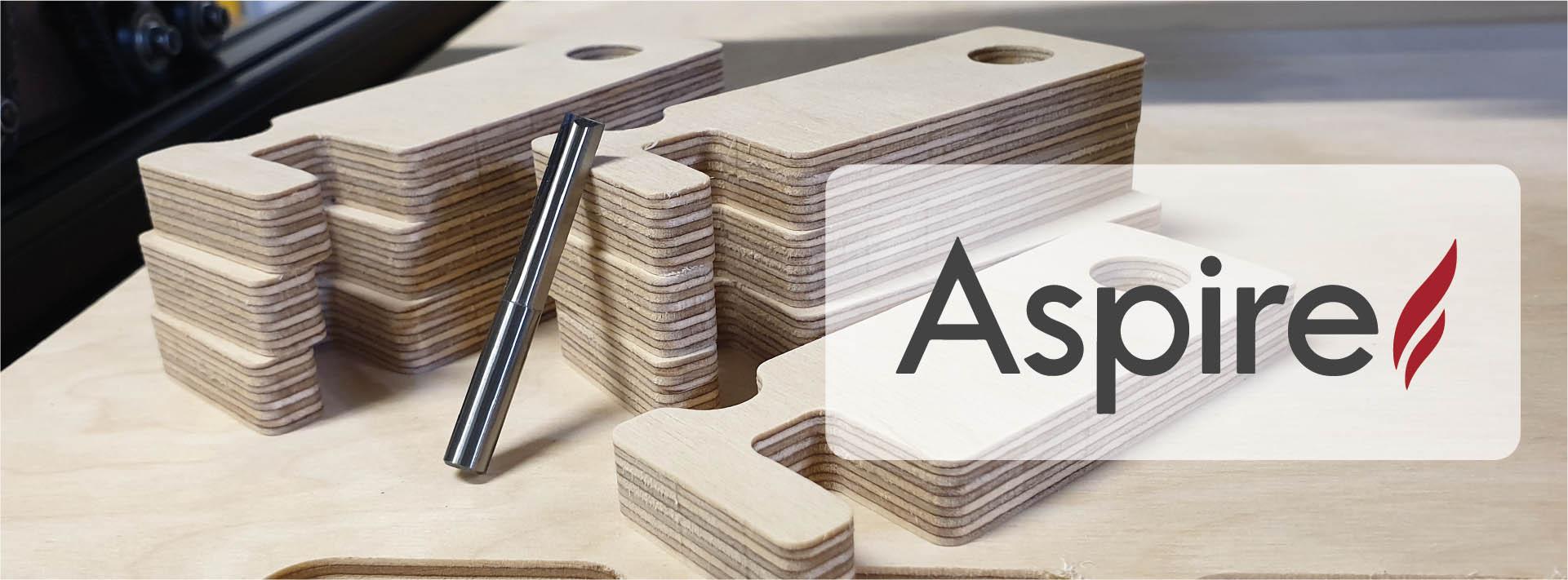 Preparación de trabajos CNC con el software Aspire